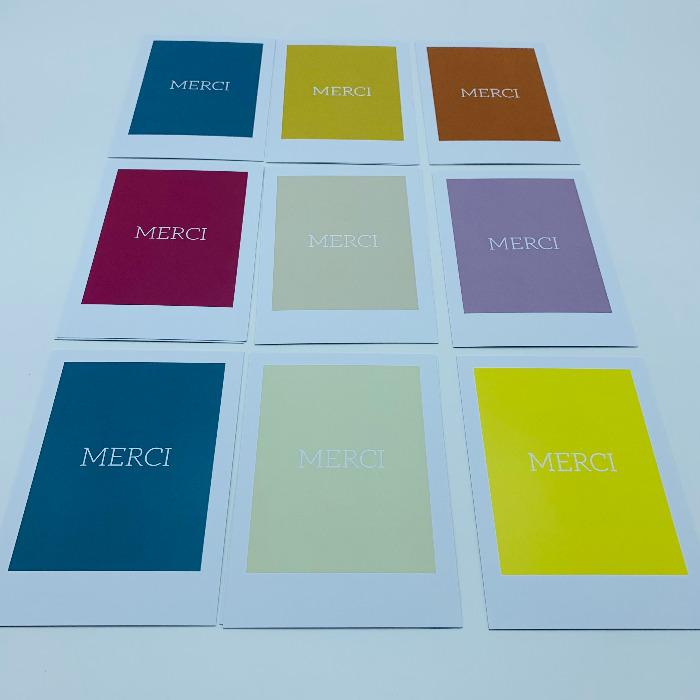 Impression carte - carte de visite, carte de correspondance, carte postale, carte de jeux