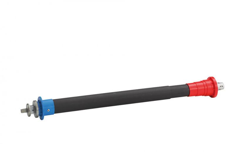 Telescopic extension spindle - Telescopic installation set for gate valves, tapping valves,  tapping saddles
