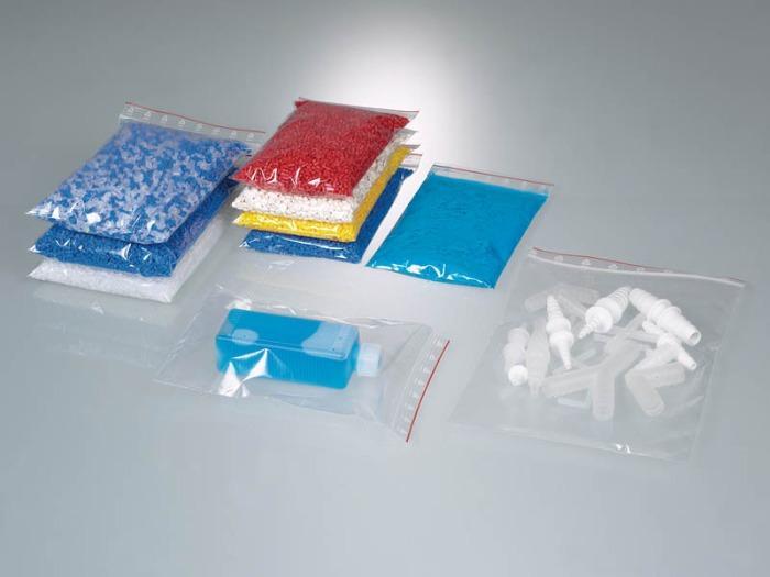 Bolsas para envasado con cierre a presión - LDPE, crystal-clear, transport of samples