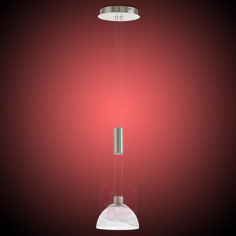Height-adjustable Montefio LED pendant light - Pendant Lighting