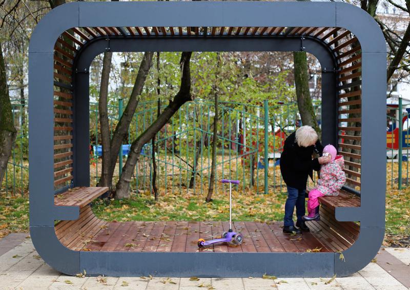 Pavilion «Cube» - Pergolas