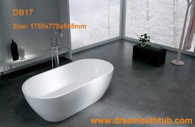 Solid surface bathtub|corian bathtub|cast stone bathtub