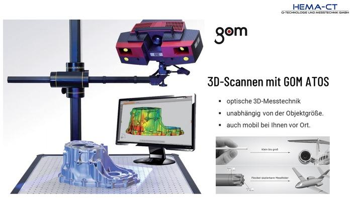 3-D Scan Service - null