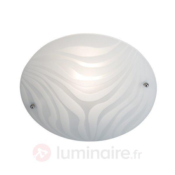 Plafonnier décoratif FANCY Wave - Plafonniers en verre