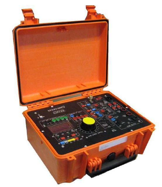 valise d'injection pour test des relais de protection - test des transformateurs de courant