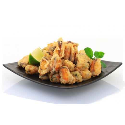Producteur Artisan - Les Moules En Tempura Surgelées - Tapas : Moules en Tempura, surgelées en sachet d'1 kilo
