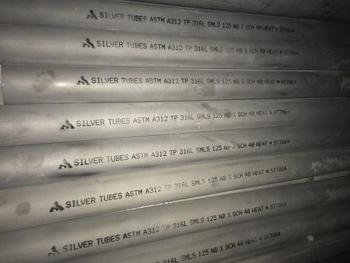 Stainless Steel ASTM A312 Pipes and tubes