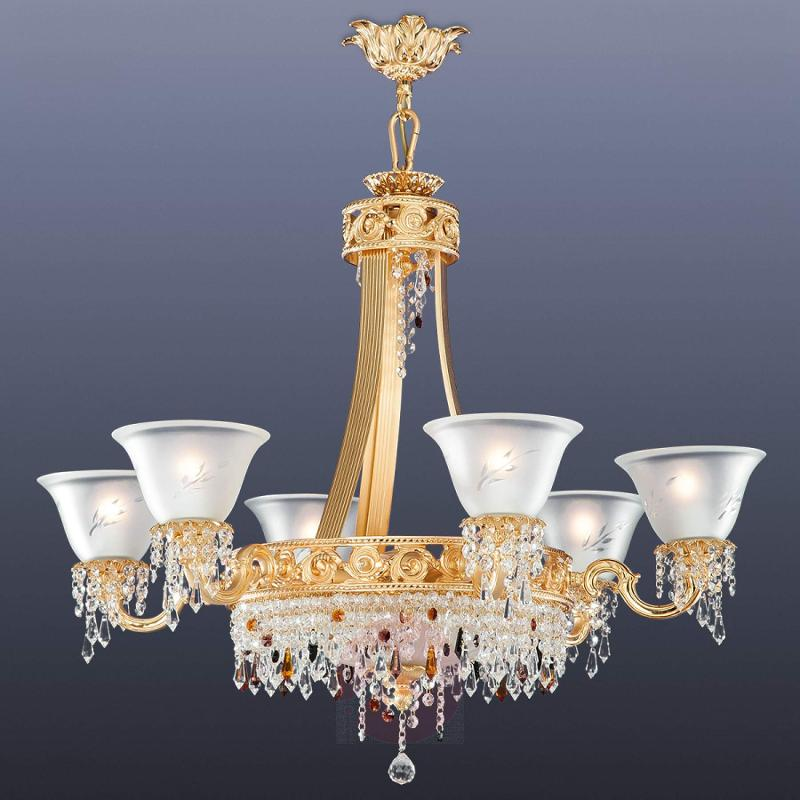 Opulent chandelier San Petersburgo - design-hotel-lighting