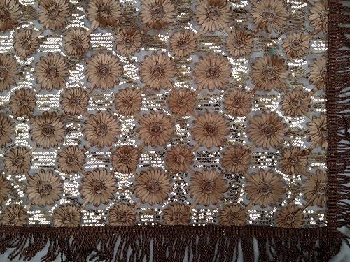 European classic style brown craft tablecloth