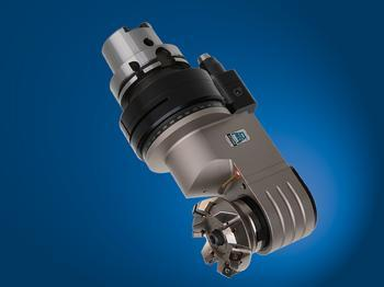 Offset spindle, machining in narrow spaces, and excellent results in milling ope
