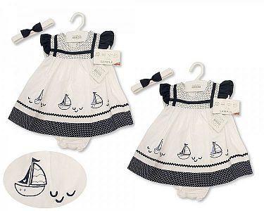 Baby Dress - Sailing Boats -
