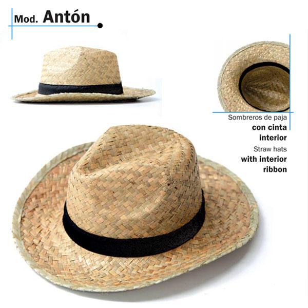 Chapéu de palha - Modelo Antón