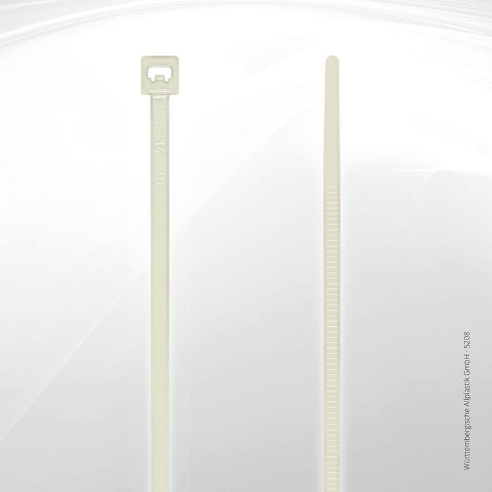 Allplastik-Kabelbinder® cable ties, standard - 5208 (natural)