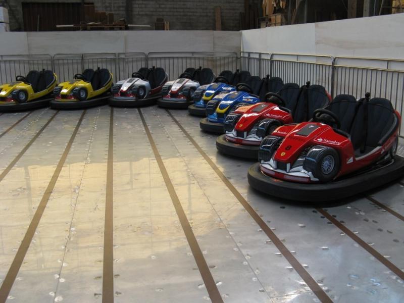 Pavilion / Platform - Bumper Cars