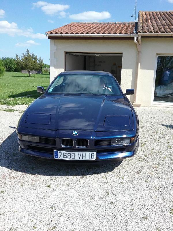 Voiture de collection - Véhicule ancien - BMW 850 1992