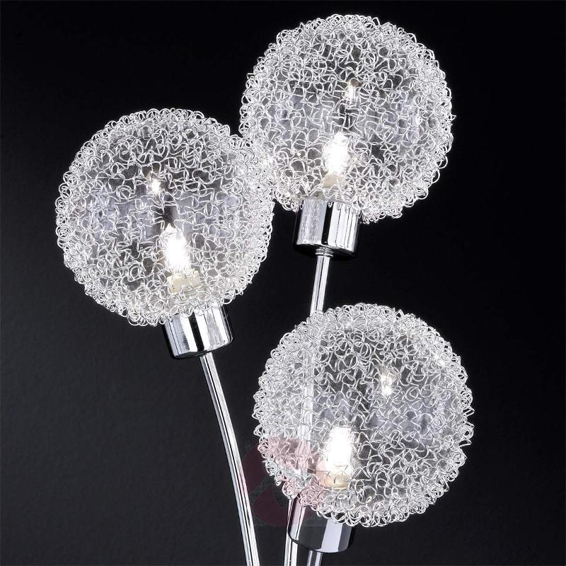 Arc table lamp with with 3 bulbs - Window Sill Lights
