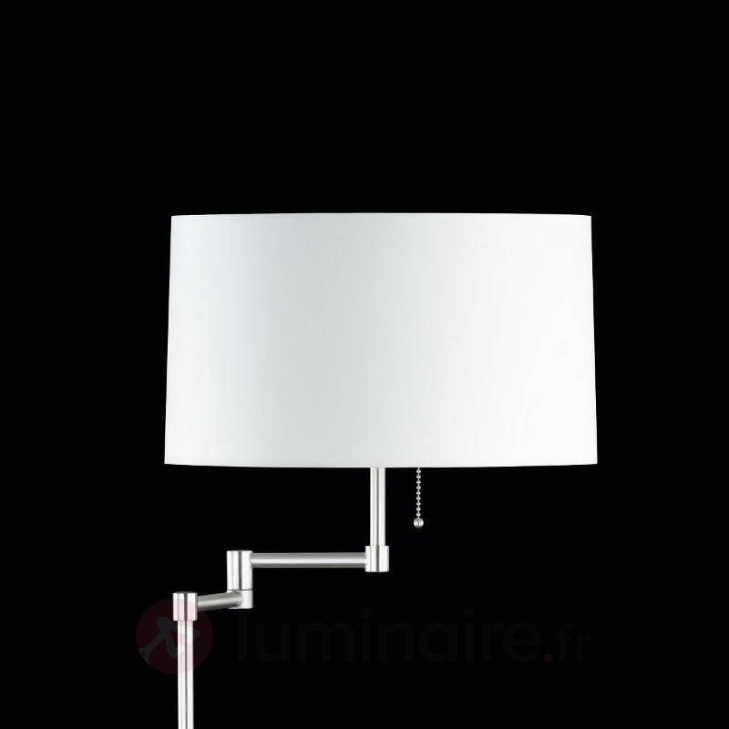 Lampadaire Loop réglable en hauteur - Lampadaires en tissu