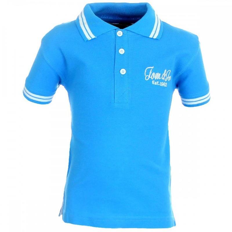 16x Polos manches courtes Tom Jo du 2 au 5 ans - T-shirt et polo manches courtes