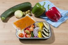 Plats préparés - Légumes avec sauces
