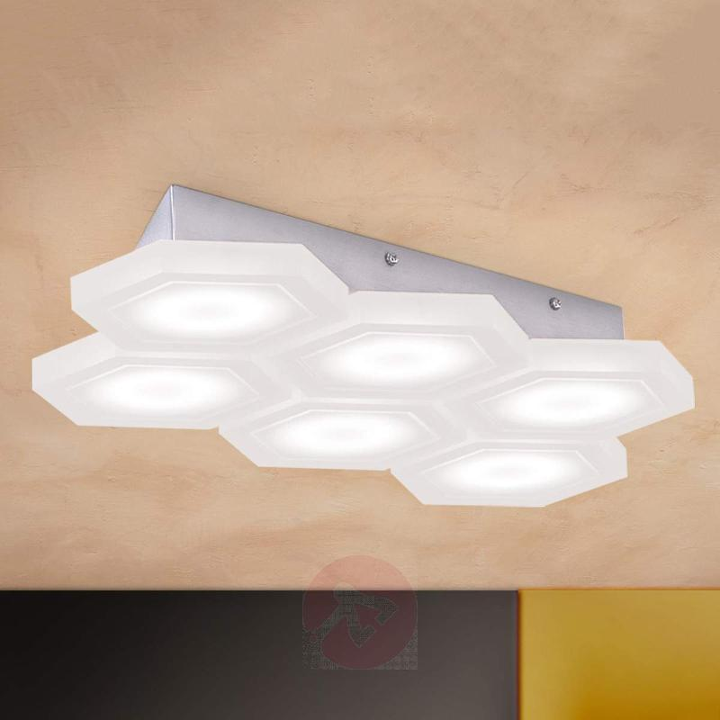 Rectangular LED wall lamp Jenni - Ceiling Lights