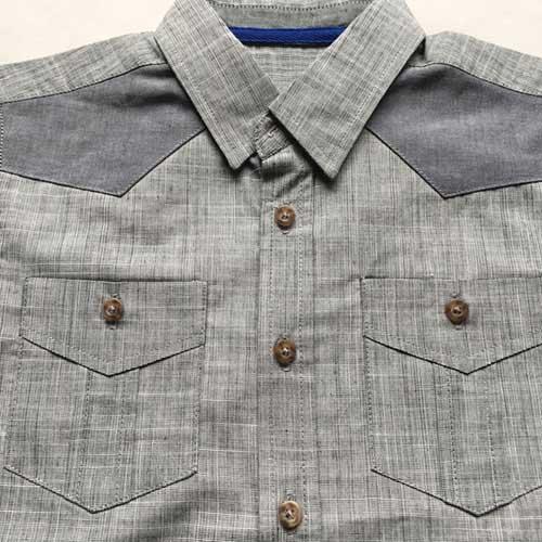 Chemise à manches courtes pour garçon