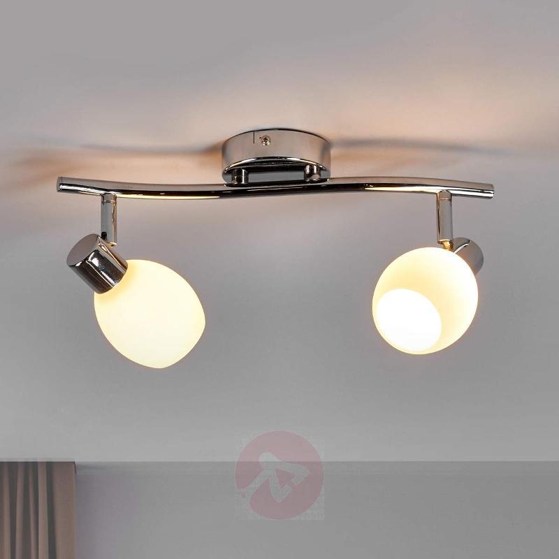 Two-bulb LED ceiling lamp Aidan - Ceiling Lights