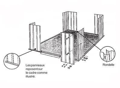 Abri de jardin métallique - null