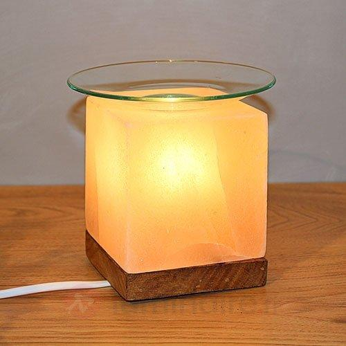 Lampe de sel aromatique et apaisante KUBUS - Lampes de sel