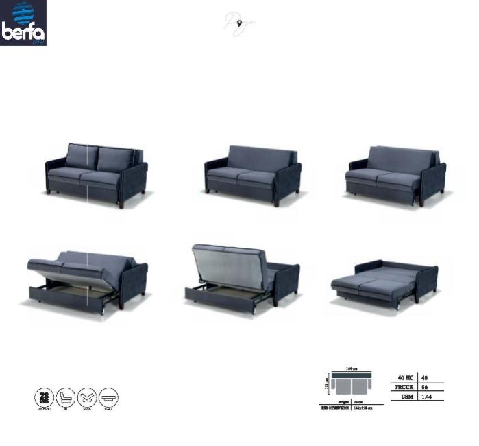 Divano letto - Produttori di divani letto