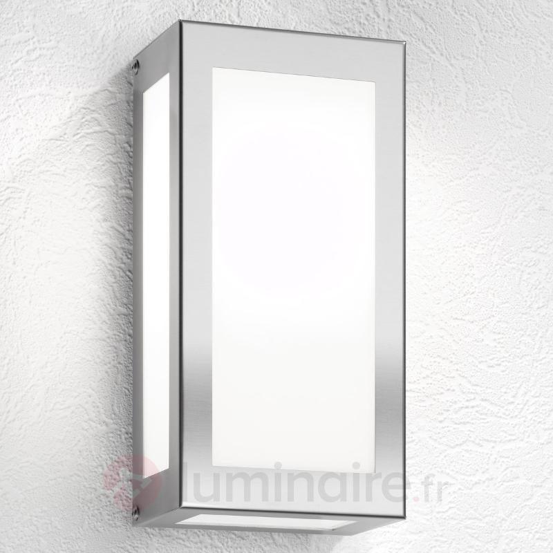 Applique d'extérieur rectangulaire Kina - Appliques d'extérieur inox