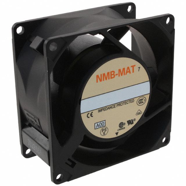 FAN AXIAL 80X38MM 230VAC TERM - NMB Technologies Corporation 3115FS-23T-B30-A00
