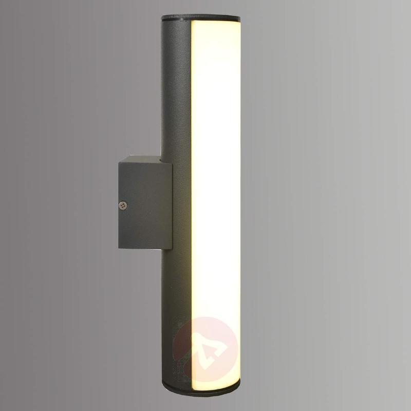 Elongated aluminium LED wall light Liva - Outdoor Wall Lights