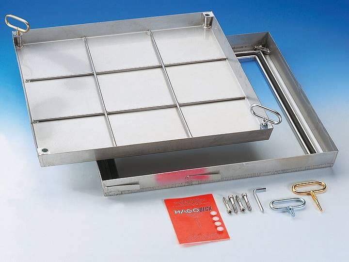 BVE stainless steel Sealed cover - Sealed cover
