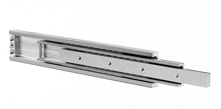 Hegra Rail - Steel, aluminum and stainless steel Telescopic guides
