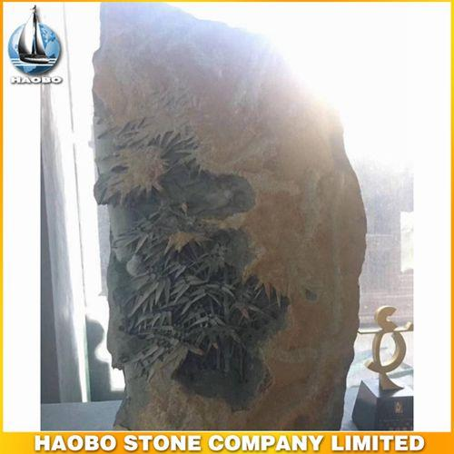 Gorgeous Bamboo Basalt Stone Sculpture Decoration