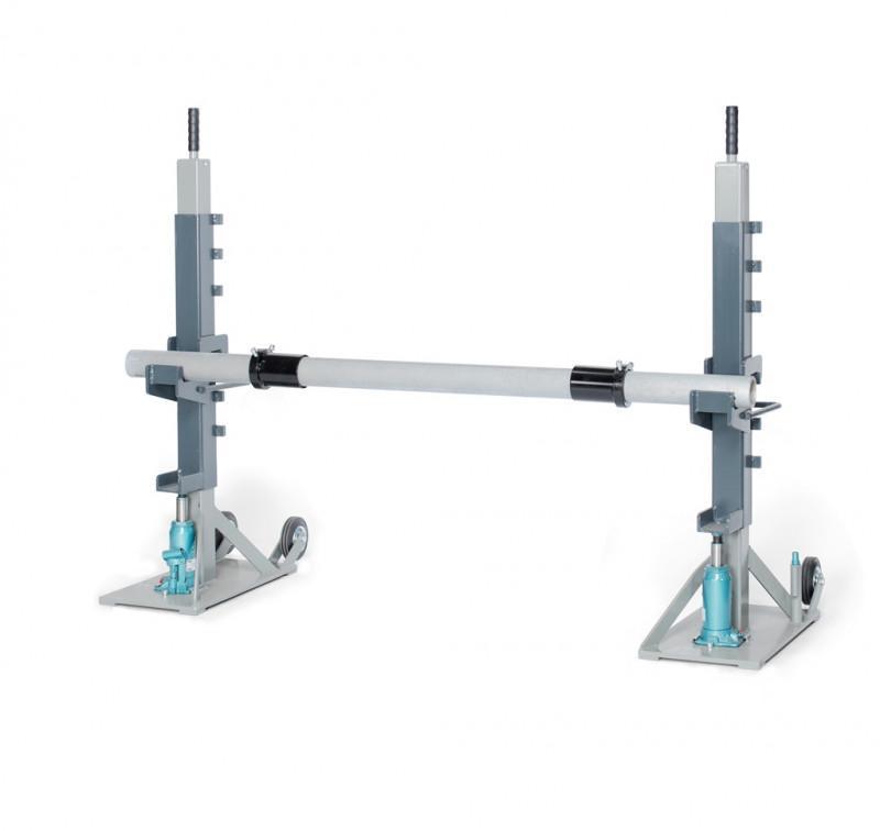 TROMBOI 2003 - Drum unwinder with manual hydraulic pump for drum Ø max 2000mm