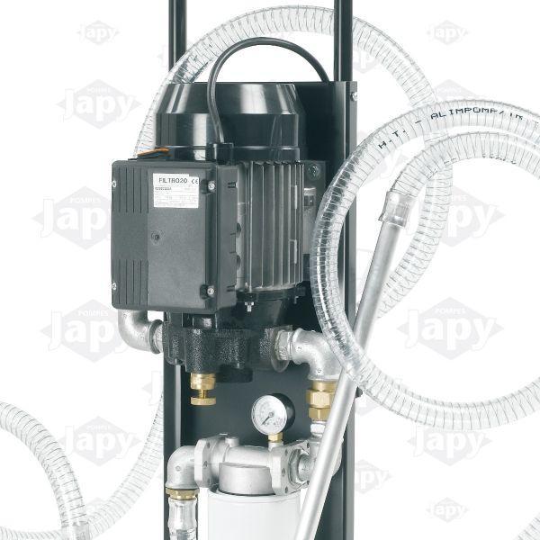 Unidad De Filtrado Móvil Con Filtro Simple - Bombas Eléctrica