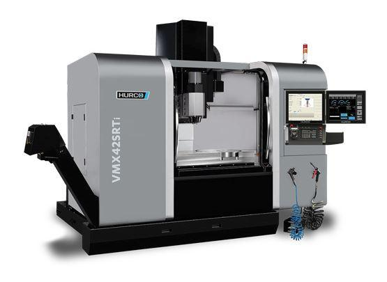 5-Axis-Machining-Center - VMX 42 SRTi - Swivel-head/ rotary machine designed for high-mix manufacturing