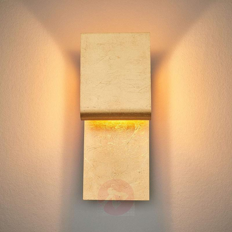 Wall light Fold with LED - gold leaf - Wall Lights