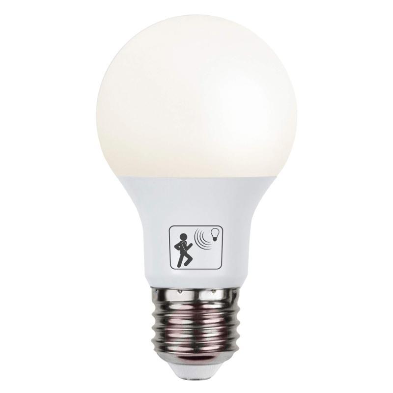E27 7 W 827 LED bulb with motion detector - light-bulbs