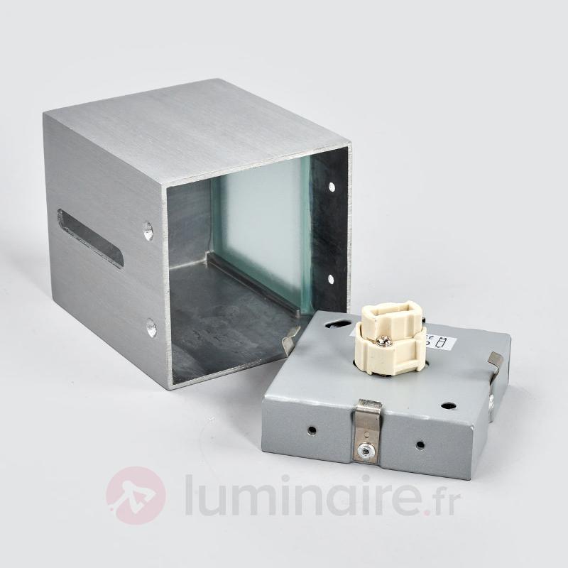 Applique moderne CUB - Appliques chromées/nickel/inox