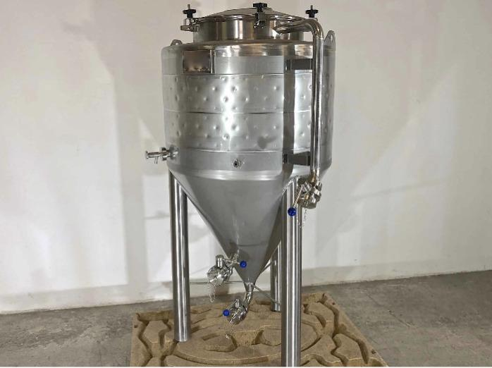 Serbatoio in acciaio inox 304 - Cilindro-conico - Fermentatore di birra