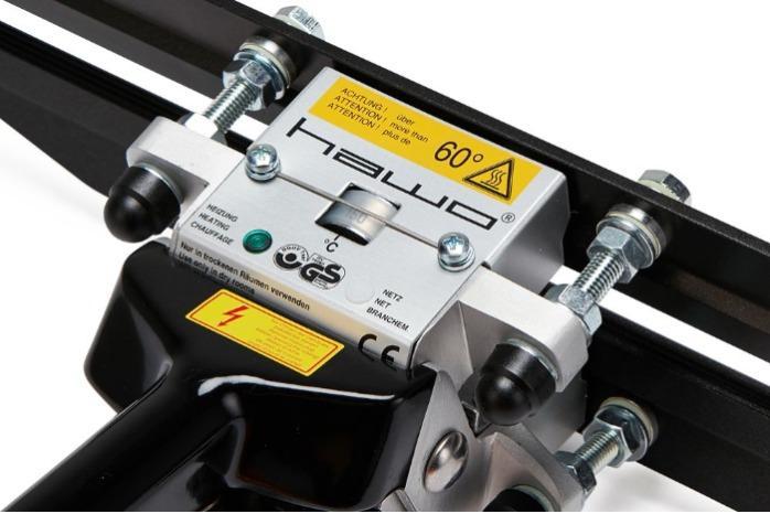 HAWO® HPL WSZ 300 & 400 mm  - Constante heatsealer (250 ° C)   Handwarmte Sluitmachine