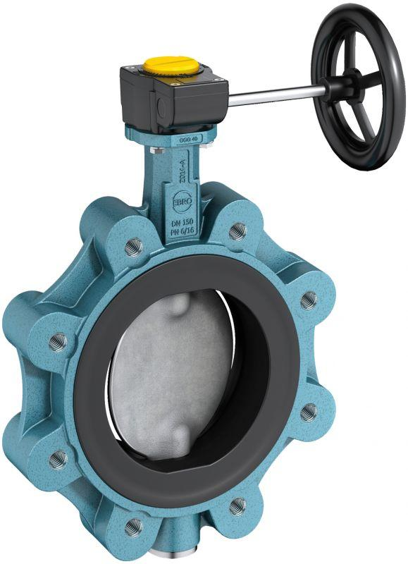 Shut-off and control valve type Z 014-B - Universally applicable butterfly valve with vulcanised liner acc. to EN 593