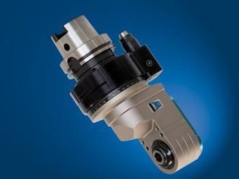 Offset spindle, input coolant through machine taper, output through tool spindle - TAO16.PD