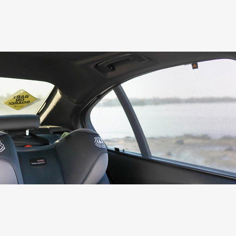 Citroen, C4 (2) (2010-onwards), Hatchback 5 Doors - Magnetic car sunshades