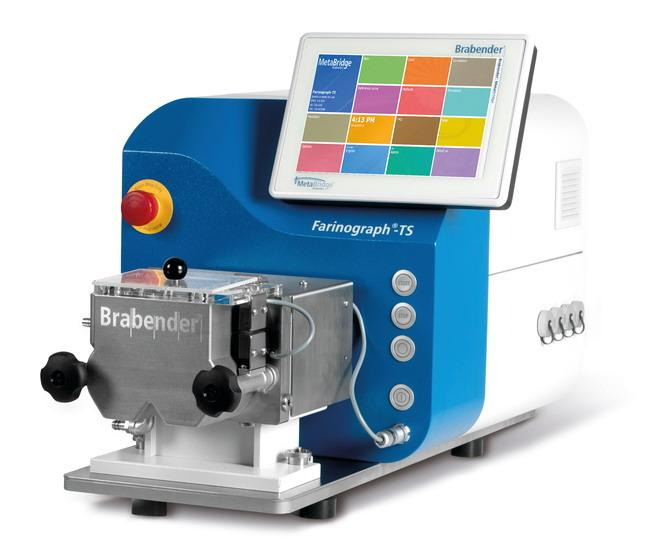 Farinograph-TS - Instrument for testing flour quality (water absorption, kneading properties)