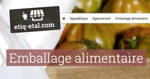 Sac et emballage alimentaire