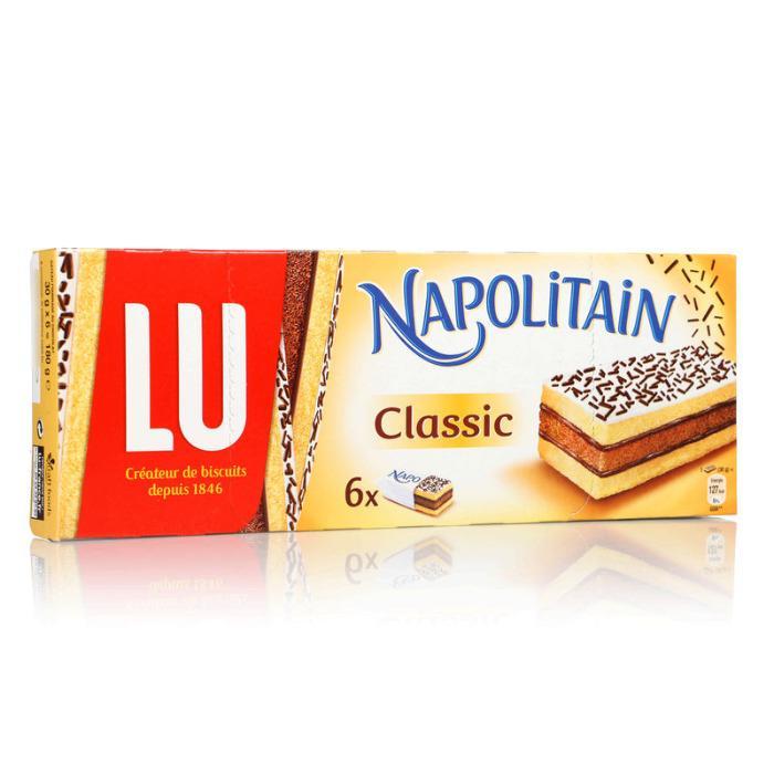 Napolitain classic x6 180g - LU  -