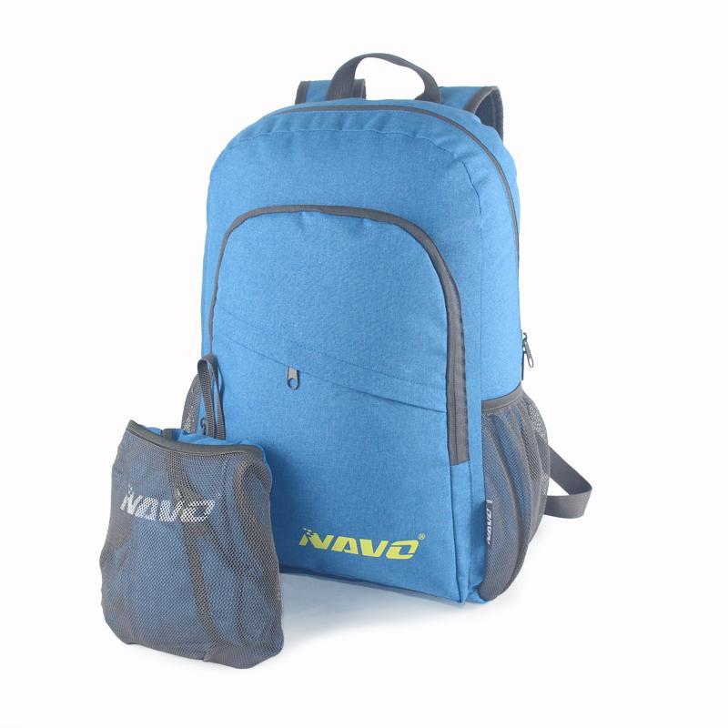 Foldable day pack rucksack - Size: 32cm L*16cm W*45cm H